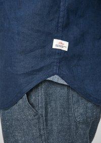 s.Oliver - Shirt - blue - 4