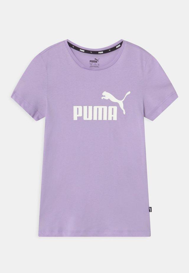 LOGO UNISEX - T-shirt imprimé - light lavender