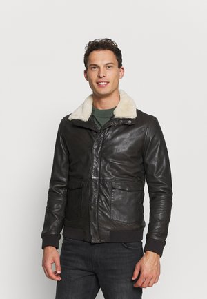 SVEN - Leather jacket - comet