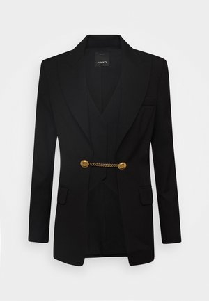 COLLIMAZIONE JACKET - Short coat - nero