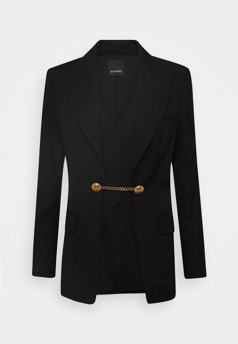 Pinko - COLLIMAZIONE JACKET - Short coat - nero