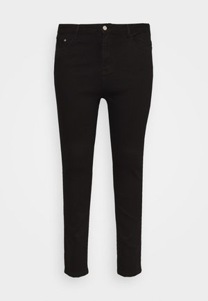 PLUS HIGH WAISTED BACK SEAM DETAIL - Jeans Skinny Fit - black