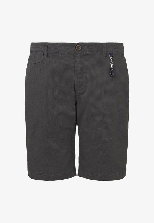 CHINO SHORT - Short - grey small t design