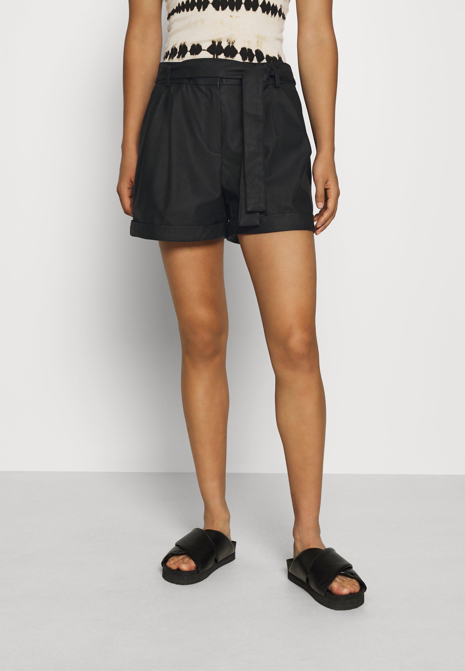 Only Onlkira Belt Shorts Pnt Pantaloncini Donna