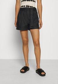 ONLY - ONLMARLEE-NESSA - Shorts - black - 0