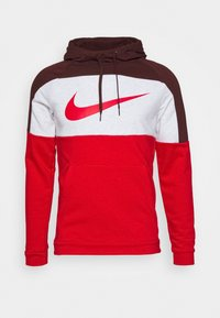 Nike Performance - DRY  - Felpa con cappuccio - mystic dates/university red - 4