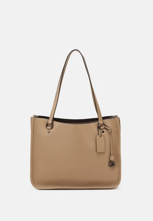 POLISHED PEBBLE TYLER CARRYALL - Weekend bag - taupe