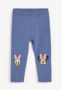 Next - EMBROIDERED  - Leggings - Trousers - blue - 0