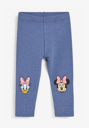 EMBROIDERED  - Leggings - Trousers - blue