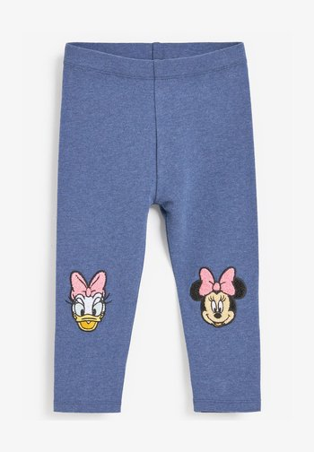 EMBROIDERED  - Leggings - blue