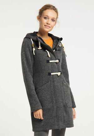 Short coat - dunkelgrau melange