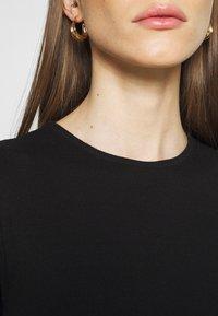 Vero Moda - VMLENA CAP SLEEVE - Basic T-shirt - black - 4