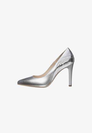 E011054DE - Classic heels - argento