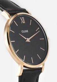 Cluse - MINUIT - Horloge - black/rose gold-coloured - 3