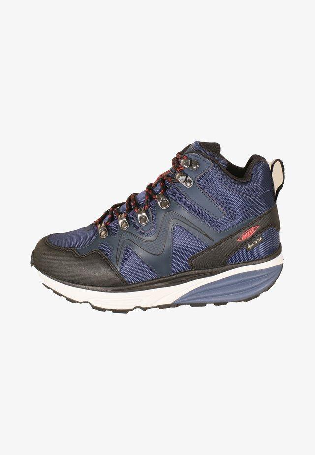 NAVADA X - Hiking shoes - navy