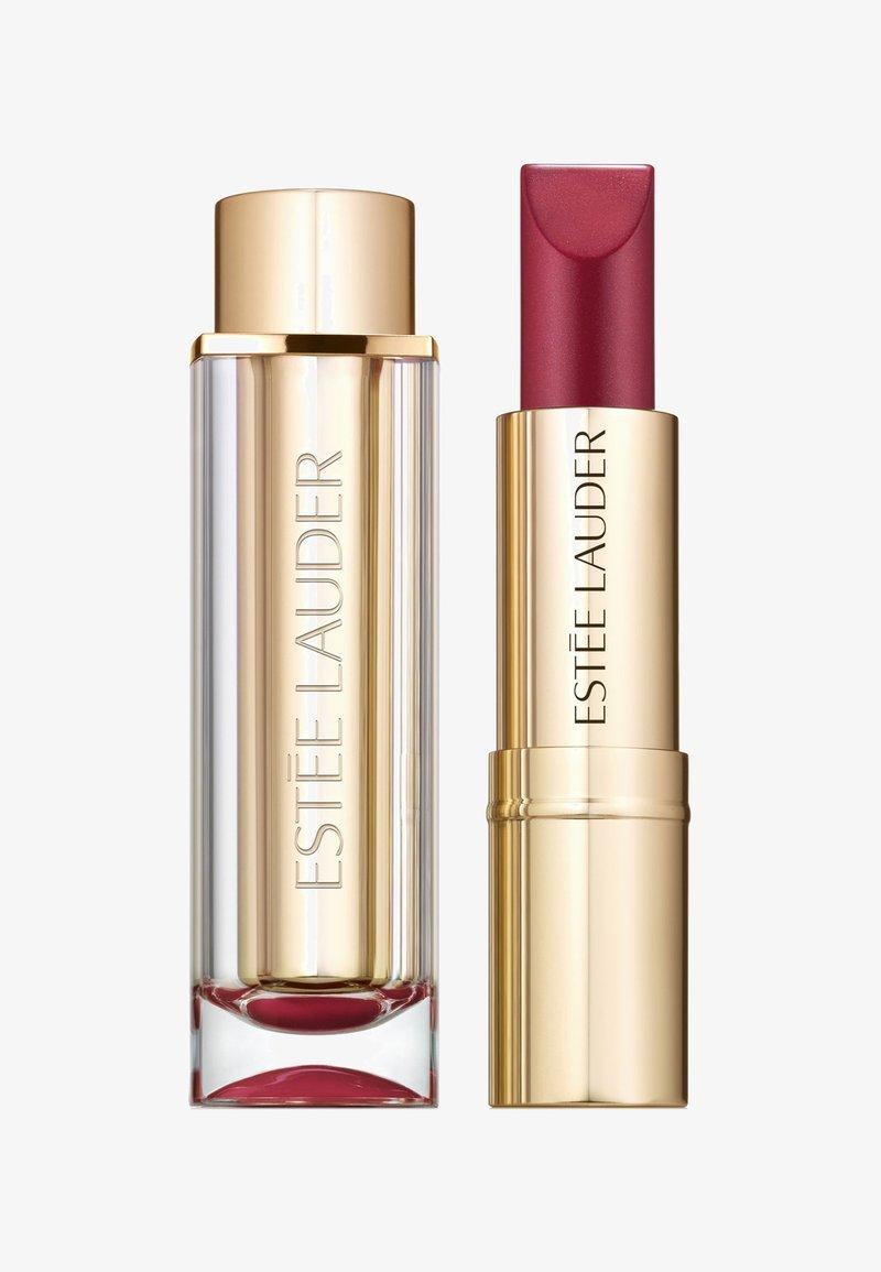 Estée Lauder - PURE COLOR LOVE LIPSTICK PEARLS - Lippenstift - 460 ripped raisin