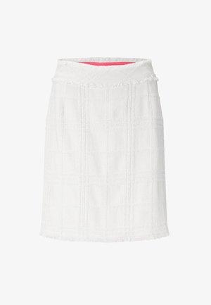 Pencil skirt - creme