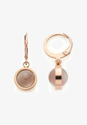 KATZENAUGE - Earrings - roségold