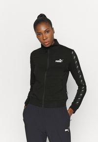 Puma - AMPLIFIED TRACK JACKET - Training jacket - black - 0