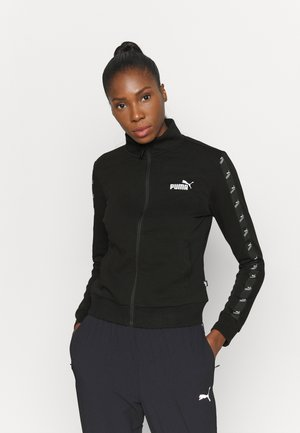 AMPLIFIED TRACK JACKET - Kurtka sportowa - black