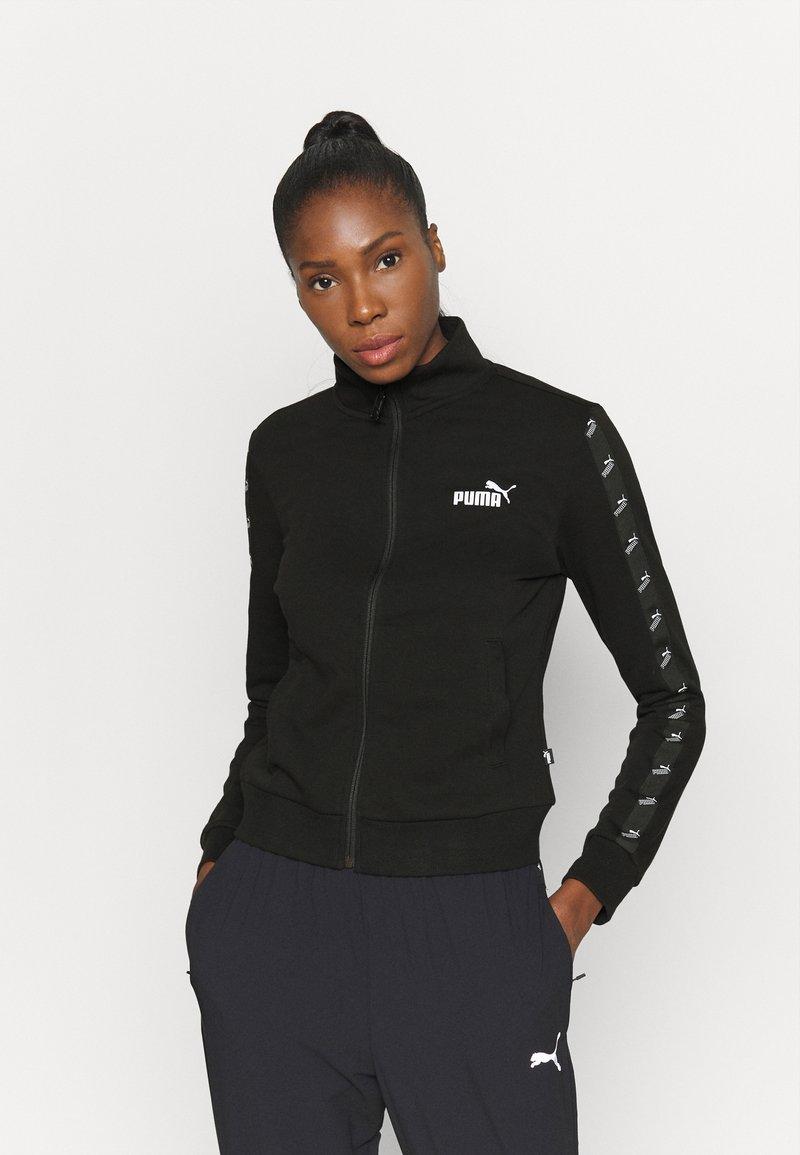 Puma - AMPLIFIED TRACK JACKET - Training jacket - black