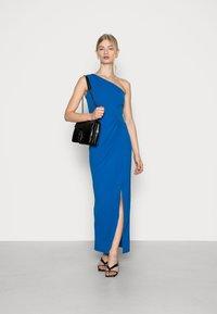 WAL G. - CHARMAINE ONE SHOULDER MAXI DRESS - Occasion wear - royal blue - 1