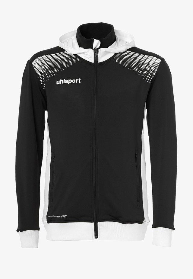 GOAL TEC - Training jacket - schwarz/weiß