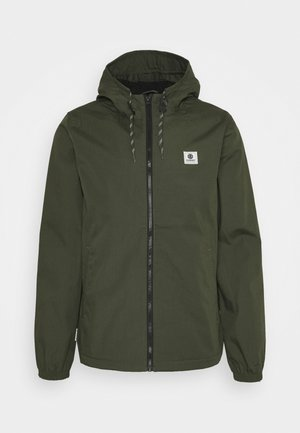ALDER - Summer jacket - forest night