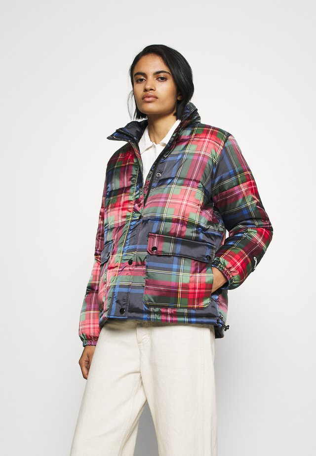 IRVING PUFFY COAT - Winter jacket - black/multi