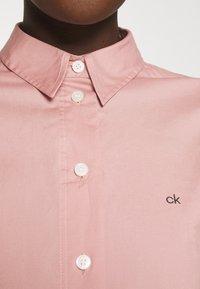 Calvin Klein - SLIM - Košile - muted pink - 5