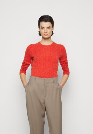 JULIANNA  - Strickpullover - orangey red