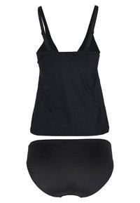 Sunseeker - WIRETANKINI SET - Swimsuit - black solid - 1
