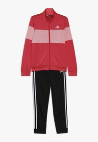adidas Performance - ESSENTIALS SPORT INSPIRED TRACKSUIT BABY SET - Tracksuit - pink - 0