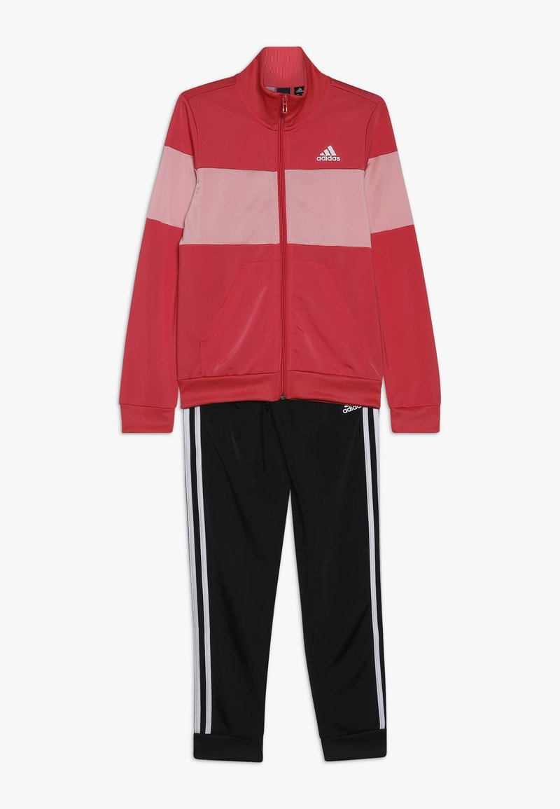 adidas Performance - ESSENTIALS SPORT INSPIRED TRACKSUIT BABY SET - Tracksuit - pink