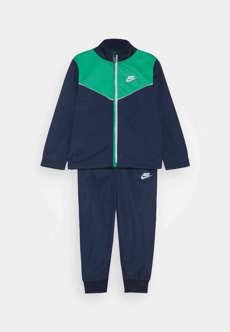 Nike Sportswear - 2 TONE ZIPPER TRICOT SET - Tracksuit - midnight navy