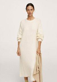 Mango - CANALI-I - Jumper dress - ecru - 0