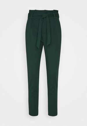 LOOSE PAPERBAG  - Tracksuit bottoms - pine grove