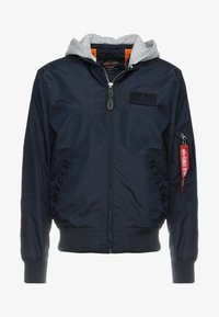 Alpha Industries - HOOD - Bomber Jacket - rep blue - 5
