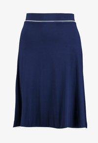 Anna Field - BASIC - Áčková sukně - dark blue - 3
