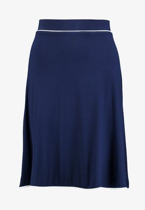 BASIC - A-line skjørt - dark blue