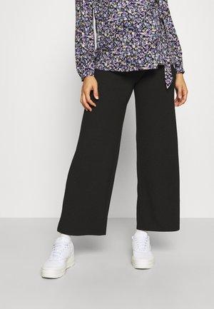 PCMFRAYA WIDE PANT - Bukse - black
