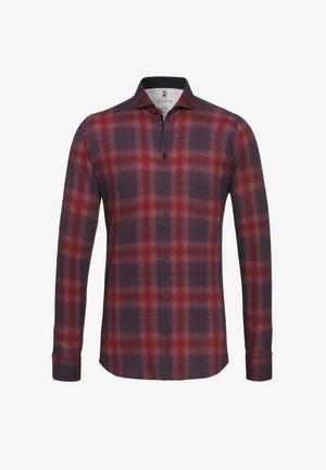 Shirt - rot-meliert