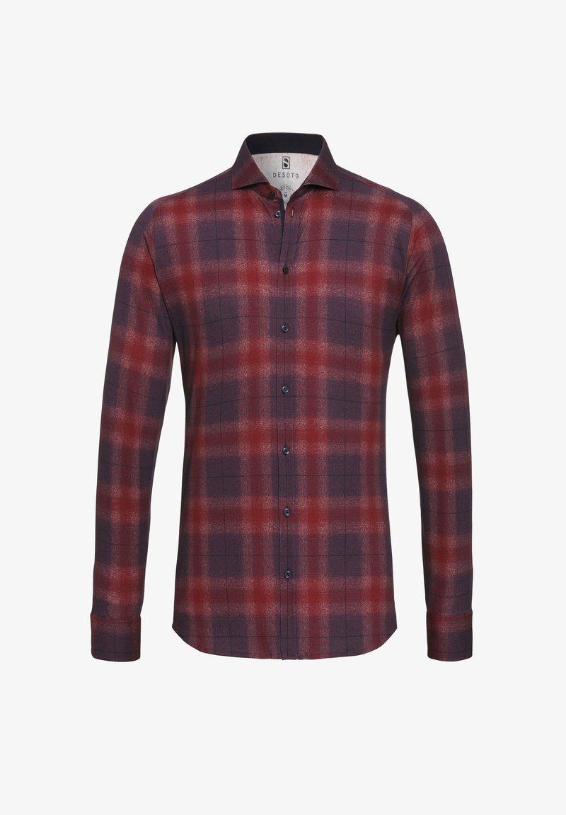 DESOTO - Shirt - rot-meliert