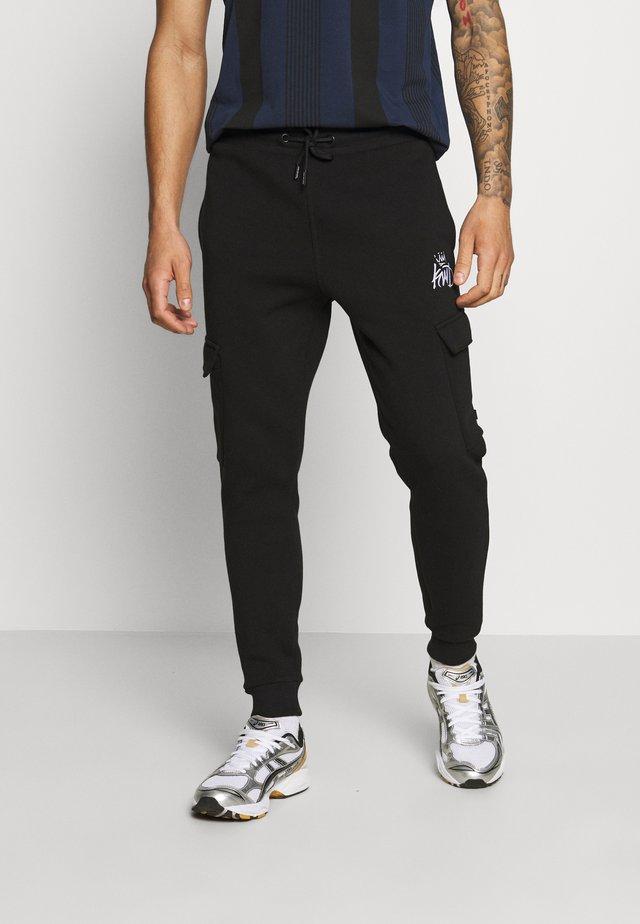 ARBOR CARGO - Pantaloni cargo - black