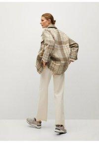 Mango - ROIBOS - Button-down blouse - ecru - 2