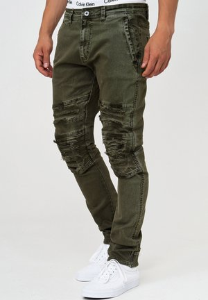 ROTH - Jeans Slim Fit - army