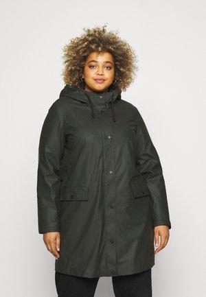 VMASTA COATED JACKET - Classic coat - peat