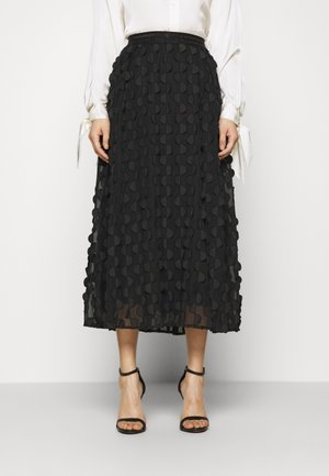 FLORA SKIRT - A-line skirt - pitch black