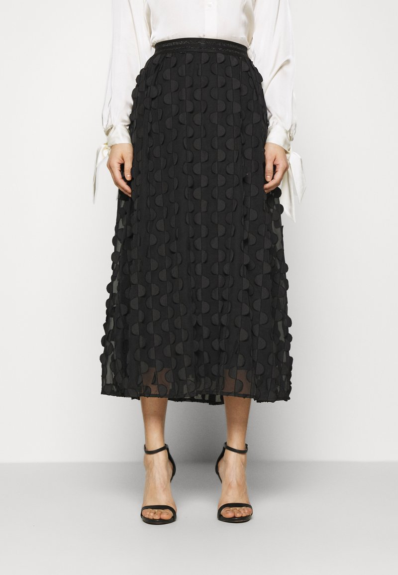 Love Copenhagen - FLORA SKIRT - A-line skjørt - pitch black