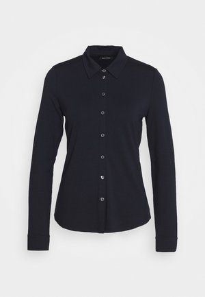LONG SLEEVE - Button-down blouse - midnight blue